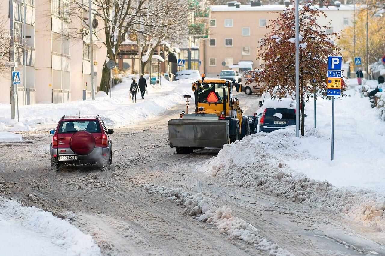 téli költözés hó